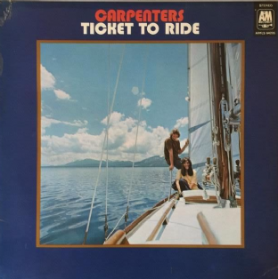 Carpenters - Ticket To Ride (LP) (G+/G+)